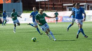 Anton Lundin och de andra spelarna i Brage lyfte sig ordentligt efter hemmaförlusten mot Örgryte.