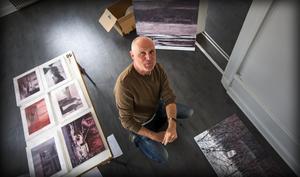 Tomas Gustavsson, konstnär från Västerås, ställer ut på Härnösands konsthall