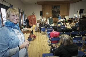Erika Rydstrand var initiativtagare till auktionen i Valbo.