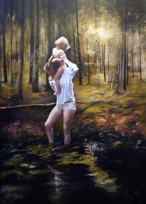Skogsljus 2 av Karin Broos.
