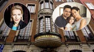Stockholms Handelskammare är starkt kritiska till utvisningen av Ali Omumi med familj.  Bilden är ett montage Pressbild/TT/Sofia Myhrman