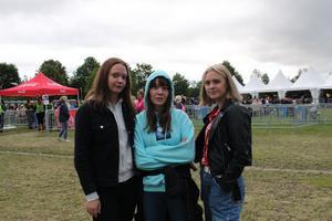 Från vänster Molly Andersson, Emma Andersson och Lovisa Dalström.