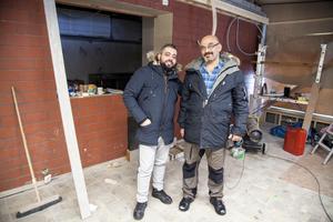 Enligt planerna ska Stenebergskiosken på Brynäs återuppstå som restaurang till våren. Delägare är Mohammed Khaled och Bassam Alwahib.
