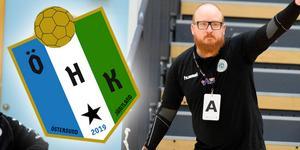 När Jonas Carlsson nu ser till att handbollen i Östersund får liv igen kommer ÖHK att få en ny logga och nya färger.