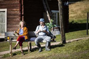 Projektledare Kajsa Linderholm, här som mamman i Dunderklumpen.