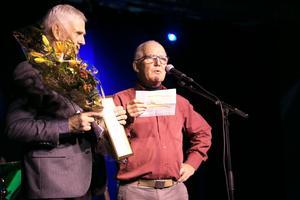 En av alla engagerade i Riksteatern i länet. Gunnar Rindå belönades med Årets kulturpris 2018 i Krokoms kommun för sitt arbete som ordförande i den lokala riksteaterföreningen.