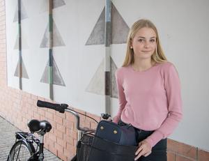 Carolina Lindqvist går numera i åttan på Långsjöskolan.