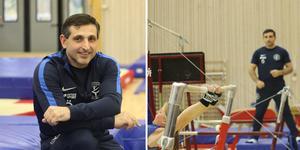 Artak Katjaturjan lämnade gymnastiken och coachningen i USA för Östersund och Östersundsgymnasterna.
