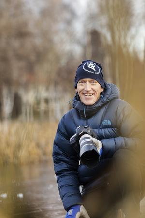 Björn började intressera sig för fotografering när yngste sonen föddes för åtta år sedan.