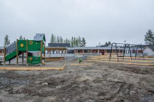 Brittsbos förskola öppnades för verksamhet för bara ett par veckor sedan. Idag går 30 barn på förskolan och till hösten kommer ytterligare 15 stycken.