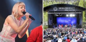 Veronica Maggio spelar på Skuleberget den 25 juli.