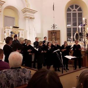 Under körkonserten på lördag i Gustafs kyrka framförs Stainers The Crucifixion.Foto: Daniel Larsson