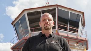 Mattias Wiberg, chef på Svegs flygplats