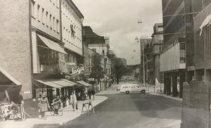 Stora gatan österut 1968.
