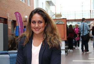 Lovisa Gehlin har börjat studera på Grundlärarutbildningen.