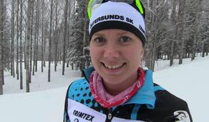 Sara Lindborg var trea i Vasaloppet i fjol.
