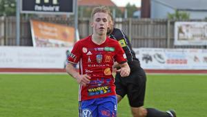 David Seger i BKV Norrtäljes tröja under säsongen 2018.