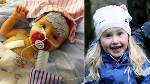 Vilya har tvingats tillbringa mycket tid på sjukhus men idag kan hon ofta gå på förskola hela dagar, precis som vilket barn som helst.