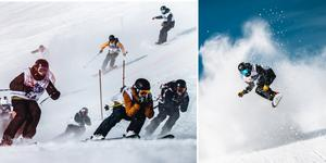 Full fokus och fart är det som gäller.  Foto: Adam Klingeteg / Red Bull Content Pool