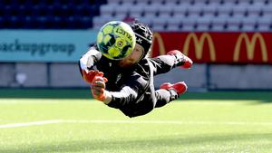 24-årige Mathias Karlsson har ännu inte gjort debut för ÖSK i allsvenskan.