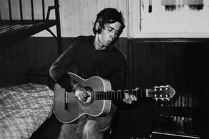 Per Nerving fick träffa Mick Jagger men sen blev det buren på grund av för sen ankomst tillbaka till regementet. Foto: Privat
