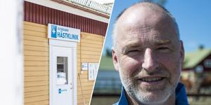 Johan Bromée äger Östersunds hästklinik. Anledningen till att man måste stänga är för att man inte lyckats hitta någon ny veterinär.