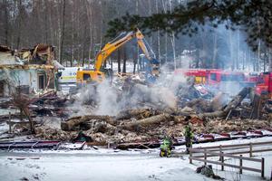Solgårdens förskola brann ned på kvällen 4 januari 2018.