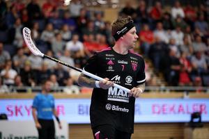 Rasmus Enström – den frivillige backen. Foto: Per Wiklund/Svensk innebandy