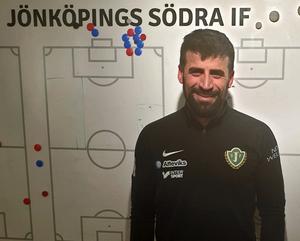 Mesut Meral är redan på plats i Småland och inledde säsongen med Jönköpings Södra i måndags. Bild: Privat