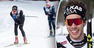 Marcus Hellner vann under onsdagen herrarnas tremil vid SM-veckan i Skellefteå.