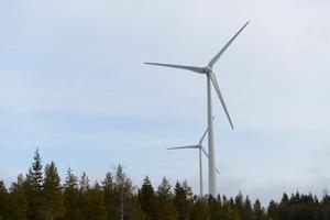 Vindkraftverk är inte vara stora vindsnurror i naturen. De kräver en infrastruktur av kraftledningar och servicefunktioner.