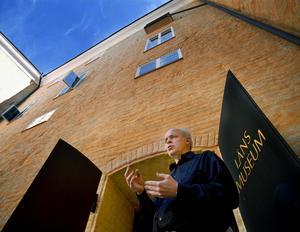 Carl-Magnus Gagge som nytillträdd chef för Västmanlands läns museum som då var förlagt i Västerås slott.