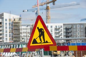 Byggen kan vara farliga arbetsplatser. Foto:  Fredrik Sandberg