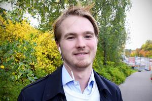 Jack Bruksås, 21, studerande, Sundsvall: