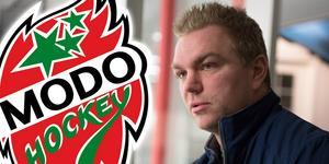 Per-Åge Skröder träffar Hockeypuls efter en träning med Ö-vik Hockeys hockeygym. Foto: Jon Häggqvist.