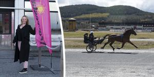 Camilla Schildt, marknadsansvarig på Solänget är en av de drivande krafterna bakom travbanans framtidssatsning.