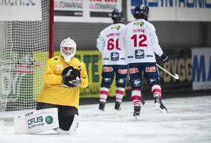Anders Svensson håller stilen – och höll nollan i tisdagens seriefinal mot Sandviken.