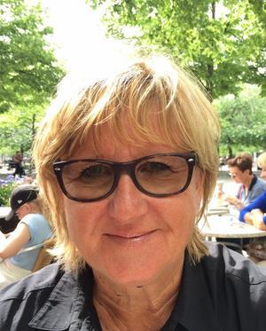 Britta Lundqvist, styrelseledamot i Singö utveckling och Singö skolas vänner.