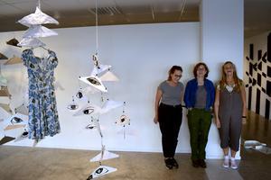 Katarina Warrenstein, Maria Backman, Christina Göthesson – tre av konstnärerna som ställer ut.