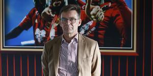 """""""Det är alltid en risk att ha aktier. Det är också en fördel att ha aktier"""", säger Lennart Ivarsson, vd för ÖFK."""
