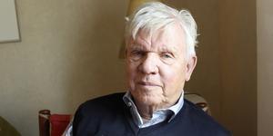 Åke Kjellberg har avlidit. Han var kommundirektör i Sala under många år. Foto: SA arkiv