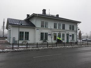 Biblioteket i Kolbäck är under ombyggnad.