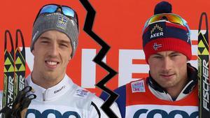 Calle Halfvarsson och Petter Northug – fortsatt är de... inte bästa vänner.