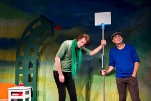 Musikerna Andreas Kullberg och Anders Larsson medverkar i Staffans Hus.