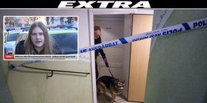 Under måndagen har polisen sökt igenom en fastighet i Avesta.