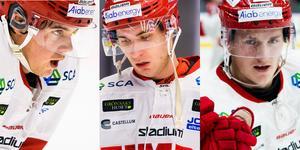 Filip Hållander, Rickard Palmberg och Henrik Törnqvist lär fortsätta ihop. Bilder: Jonas Ljungdahl (Bildbyrån).