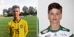 Samuel Dahl efter semifinalen mot Norge. Foto: VSK Fotboll