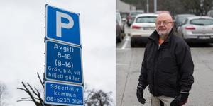 """""""Det handlar inte om intäkter. Det handlar om tillgänglighet, framkomlighet och säkerhet"""" säger Lars Neimert, Södertälje kommuns parkeringschef."""