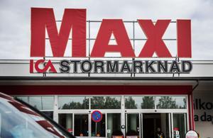 Ica Maxi i Hudiksvall är den enda av sitt slag i Hälsingland.