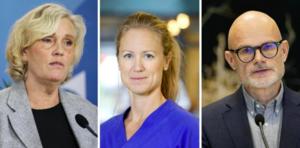 Ann Söderström, Kristine Rygge och Thomas Wahlberg är några av de som medverkar under dagens pressträff. Arkivbilder.